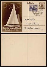 Germany 1936 - Illustrated Stationery - Olympics E287