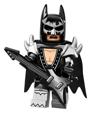Lego Glam Metal Batman Movie Series Minifigure #2 71017 - Factory Sealed Rock