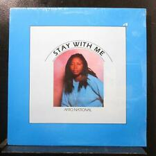 """Afro National - Stay With Me 12"""" New Sealed ZIG 0287 USA 1987 Vinyl Record"""