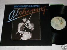Richard Lloyd Alchemy Television LP ELEKTRA Rec. Ger 1979 NEW WAVE