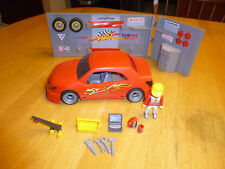 PLAYMOBIL # 4321 CAR REPAIR AND TUNING SHOP (NOT COMPLETE)