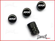 POLARIS RZR Emblem Set Of 4 Lasered Logo Tire Valve Caps