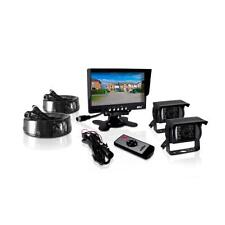 """Pyle PLCMTR72 Weatherproof Backup Camera 7"""" Monitor for Bus Truck Commercial"""