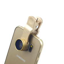 Newest 2 in1 Clip-on 0.63X Wide Angle+Super Macro Lens For Various Mobile Phones