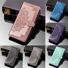 Per Samsung A20E Huawei Nova 5 Honor 20 in Pelle Flip Stand Scheda Portafoglio Custodia Cover