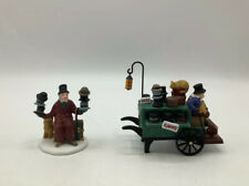 Dept 56 Heritage Village Collection - Chelsea Market Hat Monger & Cart #58392