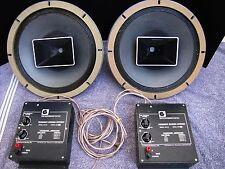 Altec 604 E2 Red Series Duplex Coaxial Monitor Speakers w 604/5 Network