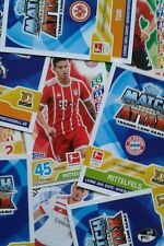 Match Attax und Match Attax Extra 17 18, 6 Basiskarten aussuchen!
