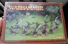 Dark Elf Elves Mengil Manhides Manflayers   sealed - New OOP Warhammer