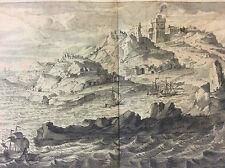 Ville et Port de Joppe a Present Nommez Jaffa Tel Aviv Israël 1720