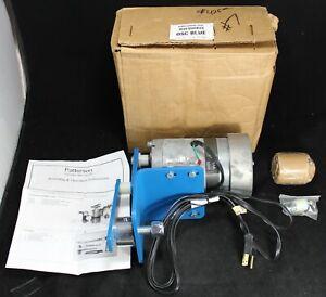 Dayton 1LPN8 AC Gear Motor 115v 1/20 HP Oscillator Mechanism w/ Wall Bracket
