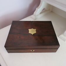 Antique empty architect tool wood box