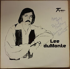 Lee du Monte - ST LP Private Countrty Rock North Dakota 1975