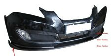 Coupe Carbon Fiber Front Lip Spoiler 2DR Fit For Hyundai Genesis Front Bumper