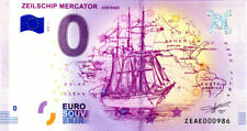 BELGIQUE Oostende, Zeilschip mercator, N° de la 10ème, 2018, Billet 0 € Souvenir
