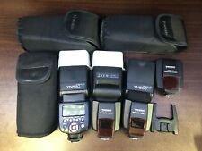 Lots of 3: Yongnuo Digital Speedlite YN560 IV Flash w/ Wireless Controller