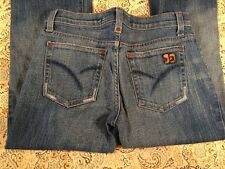 JOE JEANS CREDENCE/LIGH BOOT CUT DISTRESSED WOMEN'S JEANS SIZE W 27