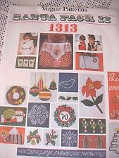 Pattern Christmas Santa Pack II 1313 Heat Transfers Motifs Alphabet Vogue Unused