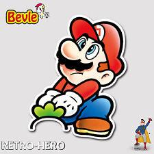 Nintendo Aufkleber Mario Sticker Wasserfest für Auto Laptop Pc Handy young Bevle