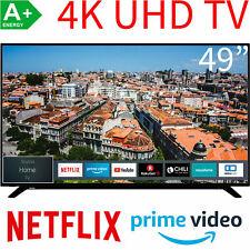 Toshiba 49 Zoll 4K UHD Smart TV 4K UHD LED HDR HDR10 HLG WLAN Fernseher 123cm