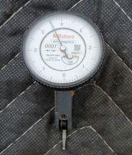 MITUTOYO  Dial Test Indicator .0001 513-443 hori