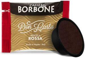200 CIALDE CAFFE' BORBONE CAPSULE DON CARLO ROSSA COMPATIBILI LAVAZZA A MODO MIO