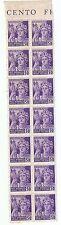 14 francobolli da 50 Centesimi RSI Repubblica Sociale Italiana  1945