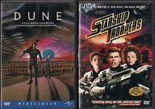 "SCIENCE FICTION  (2) DVD LOT"" STARSHIP TROOPERS"" & ""DUNE"" WIDESCREEN LIKE NEW"