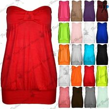 Bandeau Viscose Tops & Shirts Plus Size for Women