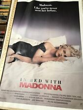 In Bed With Madonna Truth Or Dare Poster 1991 25.5x38 Vintage