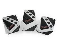 Pedalset Sportpedale 3x Pedal Für Ford Focus Escort Puma Orion Chrom Schwarz