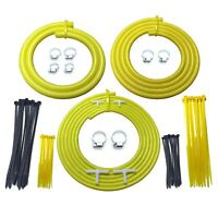 Universal Stage Motorsport Engine Bay Yellow Silicone Hose Dress Up Kit