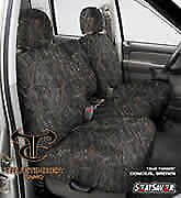 SeatSaver Seat Protector: 2004 Fits CHEVROLET S10 CREWCAB (True Timber, Conce...