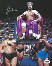 King Haku Signed WWE 8x10 Photo PSA/DNA COA Meng Pro Wrestling Picture Autograph
