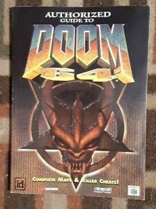 Doom 64 Nintendo 64 Bradygames Official Strategy Guide