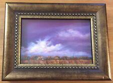 Original Miniature Pastel Painting New Mexico Masterworks artist Sharon Jensen