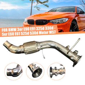 3'' Exhaust Delete Downpipe For BMW 3 Series E90 E91 E92 E93 325d 330d E60 335d