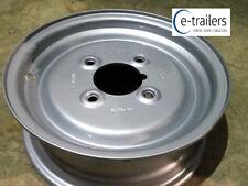 "Vlukon 3.50x10 offset trailer wheel rim same as Austin Mini 4"" PCD stud pattern"