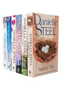 Danielle Steel 6 Books Collection Set Series 2 Winners, His Bright Light, Betray