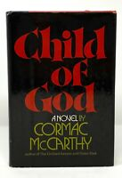 Cormac McCarthy - Child of God - 1st 1st HCDJ - Author Suttree All Pretty Horses
