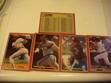 DONRUSS BASEBALL BIG CARDS 1984,1985 & 1987 TOTAL 25 CARDS