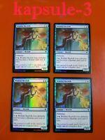 4x Wishful Merfolk | FOIL | Throne of Eldraine | MTG Magic Cards