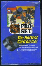 1990-91 Pro Set Hockey Box Series 1