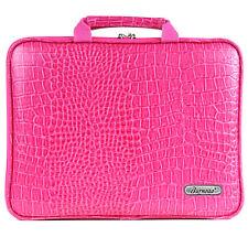Galaxy Tab S1/S2/S3/S4 10.5 Case Sleeve Pouch Memory Foam Bag Crocodile Hot Pink