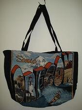 New Mill Street Design Tapestry Canvas Tote Bag Scenic Oregon