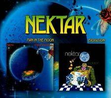 Man in the Moon/Evolution [3/13] by Nektar (CD, Mar-2012, 2 Discs, Cleopatra)