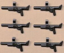 x6 NEW Lego ARMY GUNS War Weapon For Army Minifigs PERL DARK GRAY