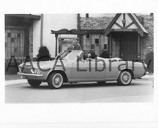1965 Chevrolet Corvair Corsa Convertible Coupe, Factory Photo (Ref. # 35242)