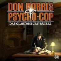 "DON HARRIS PSYCHO COP ""06: DAS GLASTONBURY RÄTSEL"" CD"