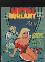 Métal Hurlant n°89. Éditions Humanoïdes associés. CLERC / LOUSTAL / CORBEN